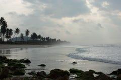 Opinião da costa Fotografia de Stock