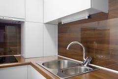 Opinião da cozinha Imagens de Stock