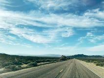 Opinião da estrada foto de stock