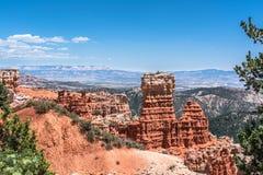 Opinião da garganta da água, Bryce Canyon National Park, Utá Foto de Stock