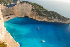 Opinião da ilha de Grécia foto de stock royalty free