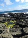 Opinião da ilha de Rathlin Fotos de Stock