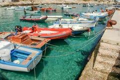 Opinião da imagem da ilha de Egadi Fotografia de Stock Royalty Free
