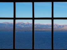 Opinião da janela imagens de stock royalty free
