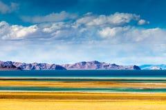 opinião da Lago-parte de Siling Co Foto de Stock