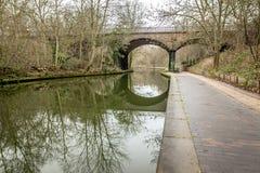 Opinião da manhã do canal dos regentes, Londres Fotografia de Stock Royalty Free