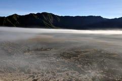 Opinião da manhã no vale de Gunung Bromo Fotografia de Stock