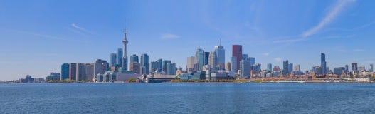 Opinião da margem de Toronto Fotografia de Stock