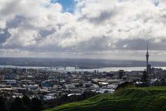 Opinião da montagem em Nova Zelândia imagens de stock royalty free
