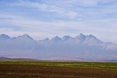 Opinião da montanha alta de Slovakia Imagens de Stock