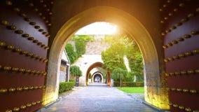 Opinião da noite da cidade antiga de Suzhou vídeos de arquivo