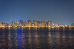 Opinião da noite de Seoul city3 Foto de Stock Royalty Free