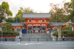 Opinião da noite do rio de Shirakawa em Gion Fotografia de Stock Royalty Free