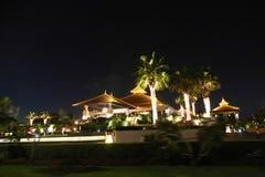 Opinião da noite da ilha de Atlantis Fotografia de Stock Royalty Free