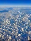 Opinião da nuvem Foto de Stock