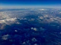 Opinião da nuvem Imagem de Stock
