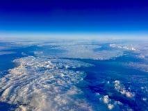 Opinião da nuvem Fotos de Stock