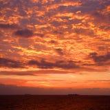 Opinião da nuvem no melhor Fotografia de Stock Royalty Free