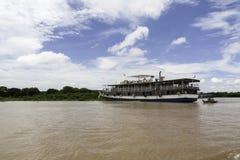 Opinião da paisagem da seiva de Tonle foto de stock
