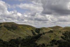 Opinião da paisagem das montanhas Imagens de Stock