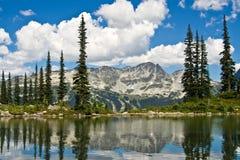 Opinião da paisagem de Blackcomb Fotos de Stock Royalty Free
