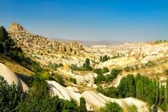 Opinião da paisagem de Cappadocia Foto de Stock Royalty Free