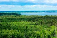 Opinião da paisagem de cima de Fotografia de Stock Royalty Free