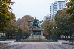 Opinião da paisagem de Turin imagem de stock