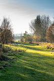 Opinião da paisagem do campo em Reino Unido fotos de stock