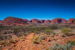 Opinião da paisagem do interior de Austrália Imagens de Stock Royalty Free