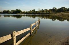 Opinião da paisagem do reservatório Fotografia de Stock Royalty Free