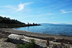 Opinião da paisagem em Bellingham Fotografia de Stock Royalty Free