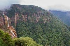 Opinião da paisagem em Cherrapunji, Meghalaya Imagem de Stock Royalty Free