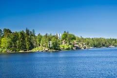 Opinião da paisagem em Monrepo em Vyborg Fotos de Stock