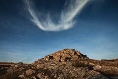 Opinião da paisagem da montanha de Bistra Imagem de Stock
