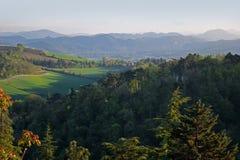 Opinião da paisagem na Bolonha, Itália foto de stock royalty free