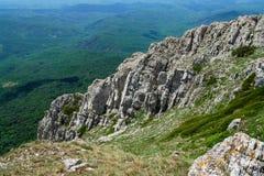 Opinião da paisagem para as montanhas rochosas imagens de stock royalty free