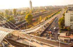 Opinião da ponte Imagem de Stock Royalty Free