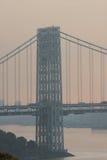 Opinião da ponte de Washington Imagem de Stock