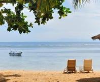 Opinião da praia Imagens de Stock