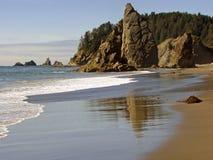 Opinião da praia Imagem de Stock