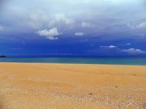 Opinião da praia Fotografia de Stock Royalty Free