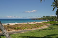 Opinião da praia da ilha Fotografia de Stock Royalty Free