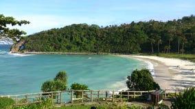 Opinião da praia da ilha de Boracay Imagens de Stock