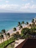 Opinião da praia de Maui Foto de Stock