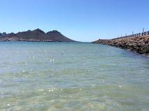Opinião da praia de Miramar Foto de Stock Royalty Free