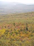 Opinião da queda na conserva do ponto do ` s de Sam em Cragsmoor NY Imagens de Stock Royalty Free