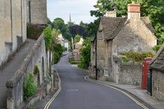 Opinião da rua da cidade Imagens de Stock Royalty Free