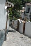 Opinião da rua de Albaicin imagem de stock