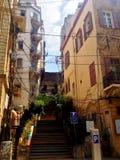 Opinião da rua de Beirute, Líbano fotos de stock